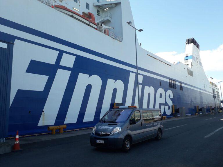 Finnlinesilla Saksaan laivakeikalla